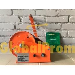 Лебедка ручная канатная BHW с тормозным фиксатором