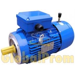 Электродвигатель с электромагнитным тормозом (тормозной двигатель)