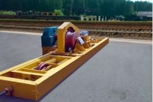 Маневровое устройство для подтягивания вагонов: особенности принцип применения