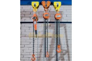 Цепные ручные тали для управления осветительным оборудованием