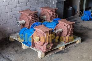 Основные способы применения червячных мотор-редукторов