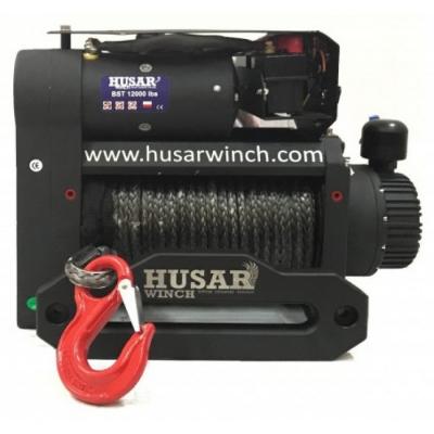 Лебедка с двойным мотором Husar S BST 12000 Lbs synthetic 5443 кг 12 В