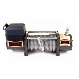 Лебедка электрическая на эвакуатор DRAGON WINCH DWT 14000 HD