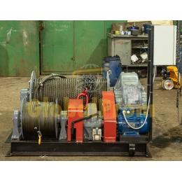 Лебедка электрическая маневровая для 5 вагонов ТЛ-8Б