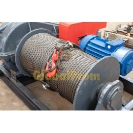 Лебедка электрическая монтажно-тяговая ЛМ-10