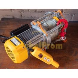 Лебедка электрическая KCD 500/1000 с тросом 60 м